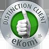 Sceau de confiance eKomi